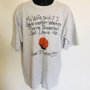 Other - Big Ball Sports Vintage 1994 Basketball T-Shirt